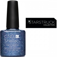 CND Shellac цвет Starry Sapphire 7,3 мл (Сапфировый) №91261