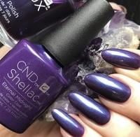 CND Shellac цвет Eternal Midnight, 7,3 мл. (Чарующий сливовый) №91592