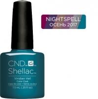 CND Shellac цвет Viridan Veil, 7,3 мл. (Пленительный лазурный) №91594