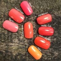 CND Shellac цвет B-Day Candle, 7,3 мл. (Оранжевый) №322