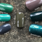 CND Shellac цвет Cap & Gown, 7,3 мл. (Зеленый) №325