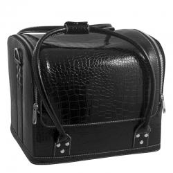 Сумка-чемодан черная Crocodile MAX