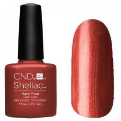 CND Shellac цвет Hand Fired 7,3 мл (Медный) №91252
