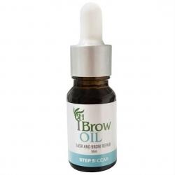 Brow Henna масло роста волосков бровей и ресниц, 10 мл.