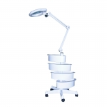 Лампа-лупа с ящиками Magnific-16 напольная, 5 диоптрий