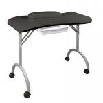 Стол для маникюра Wave cкладной (Черный)