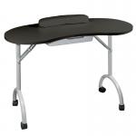 Стол для маникюра Simple cкладной (Черный)