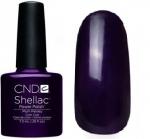 CND Shellac цвет Plum Paisley 7,3 мл(Фиолетово-сливовый) №627