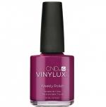 Лак VINYLUX CND №251 Berry Boudoir (Таинственный вишневый)