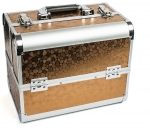 TNL кейс маникюриста коричневый (металл)