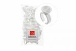Lash&Brow колечки для пигментов двойные, большие, одноразовые (100 шт)