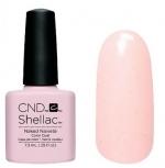 CND Shellac цвет Naked Naivete 7,3 мл (пастельный, без блеска и перламутра) №857