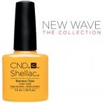 CND Shellac цвет Banana Clips, 7,3 мл. (Желтый) №91405
