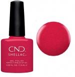 CND Shellac цвет Kiss of fire, 7,3 мл. (Красный) №92492