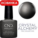 CND Shellac цвет Powerful Hematite, 7,3 мл. (Темно серый)