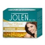 """Крем осветляющий для волосков """"Jolen Gold"""", 35 гр.+ 35 гр. маска для лица, 1 шт"""