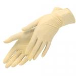 Перчатки латексные, неопудренные, M, 100шт/уп