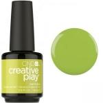 Гель лак CND Creative Play™ Gel Polish цвет Toe The Lime 15 мл (салатовый) №427