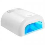 УФ- лампа с микроблеском для сушки Shellac (Шеллак) 36вт с таймером на 2 мин.