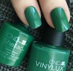 CND Shellac цвет Palm Deco, 7,3 мл. (Насыщенный зеленый)