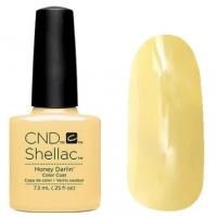CND Shellac цвет Honey Darlin' 7,3 мл (Пастельно-желтый) №91175