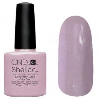 CND Shellac цвет Lavender Lace 7,3 мл (Пепельно-лиловый с шиммером) №91178