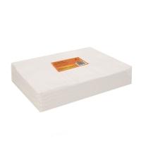 Салфетка одноразовая 30*40 см белая (100шт в пач)