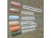 CND Shellac Dandelion 7,3мл (Пастельный желто-бежевый с микроблестками, плотный)