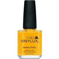 Лак VINYLUX CND №239 Banana Clips (Шафрановый)