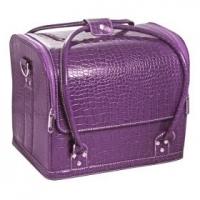 Cумка-чемодан фиолетовая Crocodile