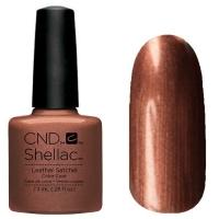 CND Shellac цвет Leather Satchel 7,3 мл (Бронзовый) №91253