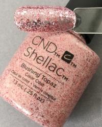 CND Shellac цвет Blushing Topaz 7,3 мл (Прозрачный) №91259