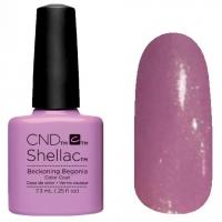 CND Shellac Beckoning Begonia, 7,3 мл  (розовый, плотный)№797