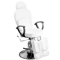 Кресло педикюрное ЭКОНОМ (Белое)