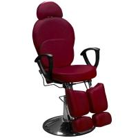 Кресло педикюрное ЭКОНОМ (Бордовое)