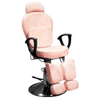 Кресло педикюрное ЭКОНОМ (Розовый мрамор)