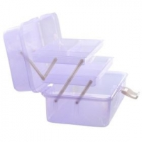 Чемодан пластиковый для хранения (средний)