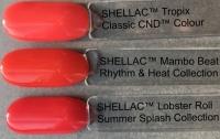 CND Shellac цвет Mambo Beat, 7,3 мл. (Красно-коралловый)