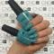 CND Shellac цвет Aqua-intance 7,3 мл (Лазурно-голубой) №91176