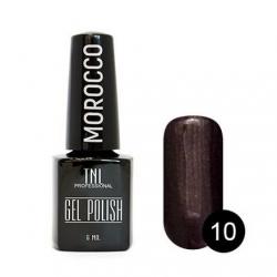 """Гель лак TNL """"Morocco"""" 6 мл (Коричневое масло) №010"""