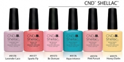 CND Shellac FLIRTATION Colletion 6 цветов