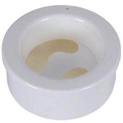 Ванночка маникюрная с углублением круглая