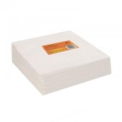 Салфетка одноразовая 30*30 см белая (100шт в пач)