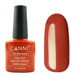 Гель лак CANNI Gel Color Polish 7,3 мл (Морковный) №26