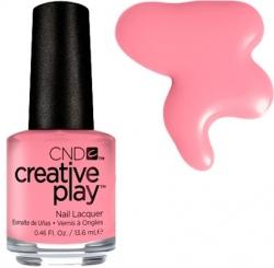 CND Creative Play лак для ногтей Blush On U №406 (молочный розовый)