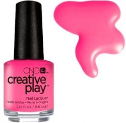 CND Creative Play лак для ногтей Sexy I know It №407 (розовый насыщенный)