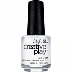 CND Creative Play лак для ногтей Top Coat №481 (верхнее покрытие)