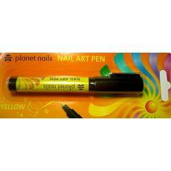 Карандаш для дизайна Nail Art Pen, желтый