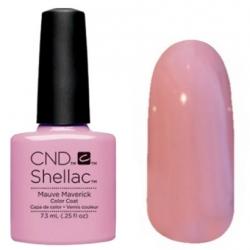 CND Shellac цвет Mauve Maverick 7,3 мл (нежно розовый) №91171