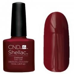 CND Shellac цвет Oxblood 7,3 мл (Винный) №91250